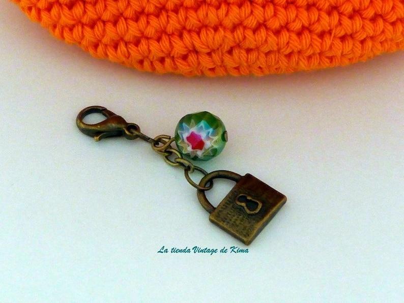 Crochet Purse-Orange-