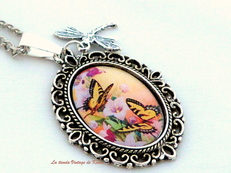 Cameo necklaces pompom several models-