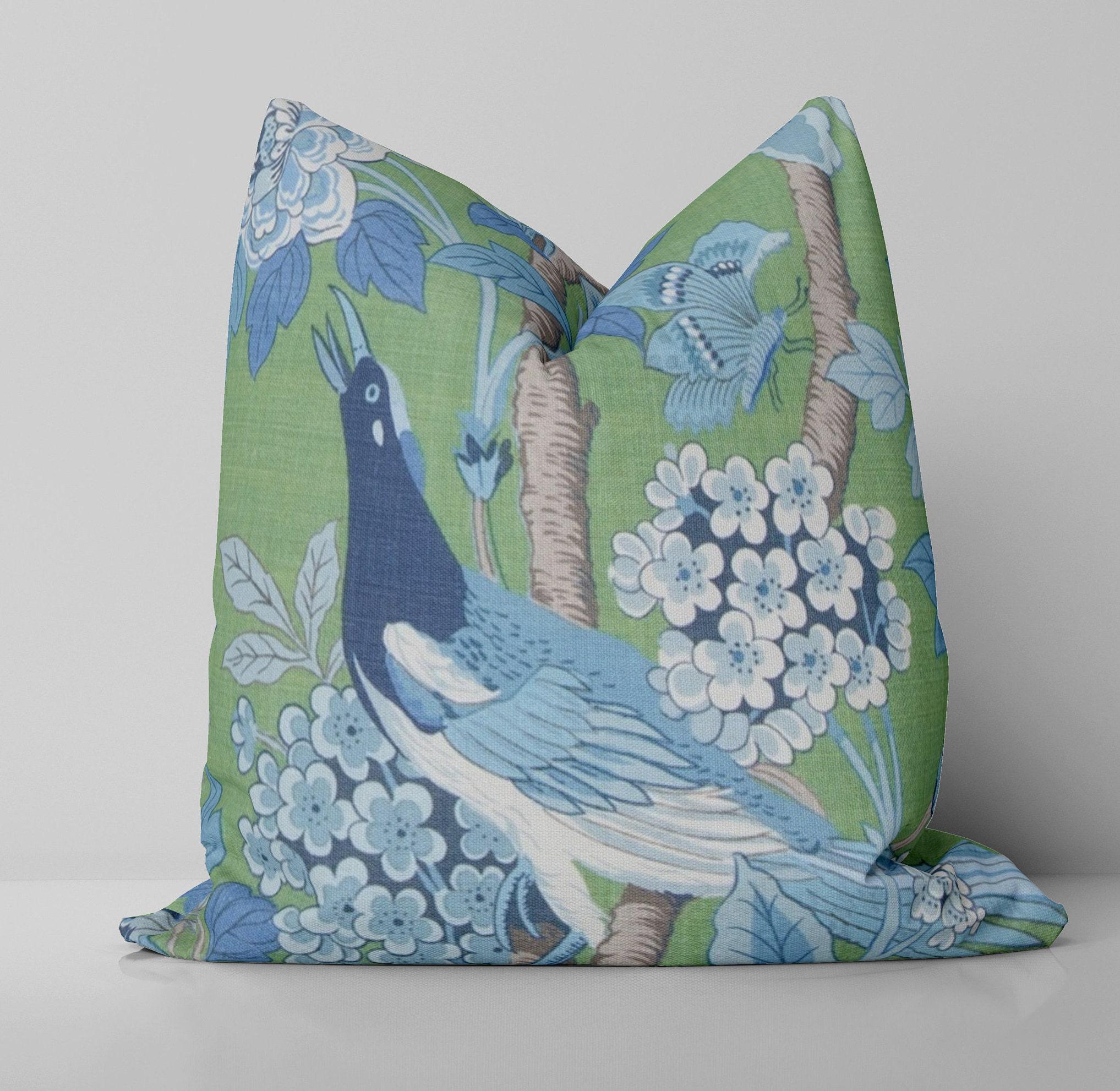 Albizia Pillow  Delft Rose