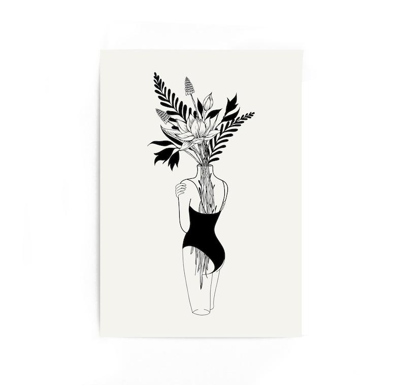 Astounding Tumblr Room Decor Trippy Prints Girlfriend Gift Gift For Boyfriend Line Art Print Line Drawing Print Line Art Drawing Couples Gift Print Download Free Architecture Designs Scobabritishbridgeorg