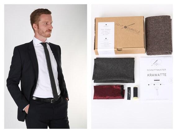 Krawatte nähen KIT / NÄHPAKET | Etsy
