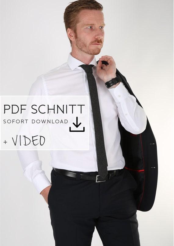Krawatte nähen PDF SCHNITT | Etsy