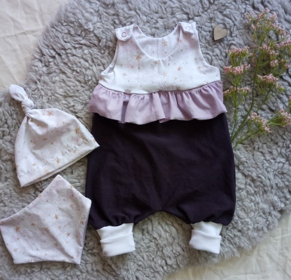 Wendehalstuch Baby lila