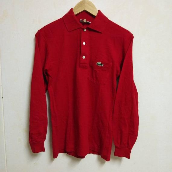 Vintage Lacoste Polo Long Sleeve Polo Shirt