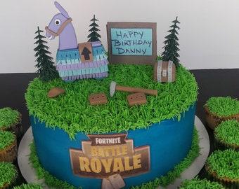 Fortnite Cake Etsy