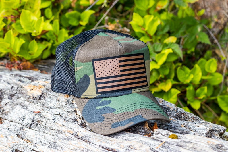 American Flag Trucker Hat, Snapback, Merica, Patriotic, USA, Personalized,  Birthday Gift, Gift For Him, Vintage, Dad Hat, Baseball, Custom