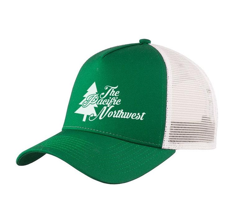 35095b854fb Pacific Northwest Trucker Hat PNW Snapback Canada Custom