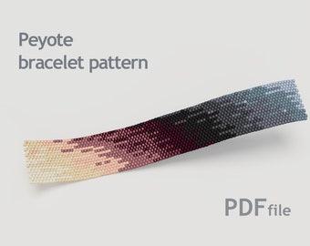 187eed1b94fe Peyote bead pattern - Shades