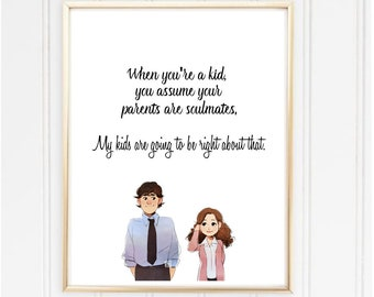 Jim And Pam Etsy