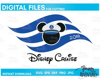 Disney Cruise Flag Minnie Captain Instant Download SVG | Etsy