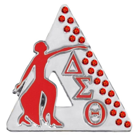 Delta Sigma Theta Since Pyramid Fortitude Greek Letters And Etsy