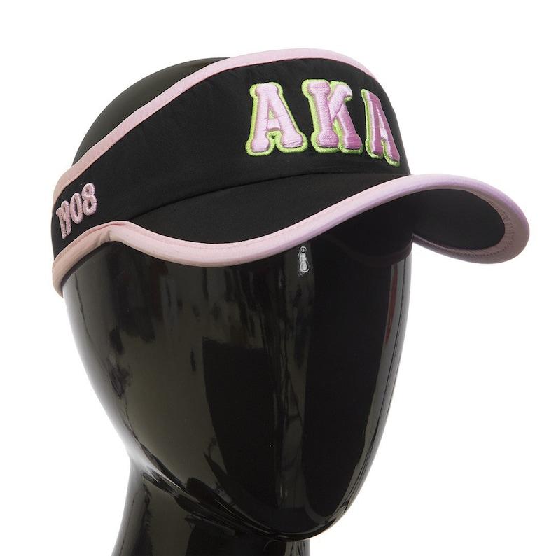 aa9ce4de3 Alpha Kappa Alpha Featherlight Visor Cap