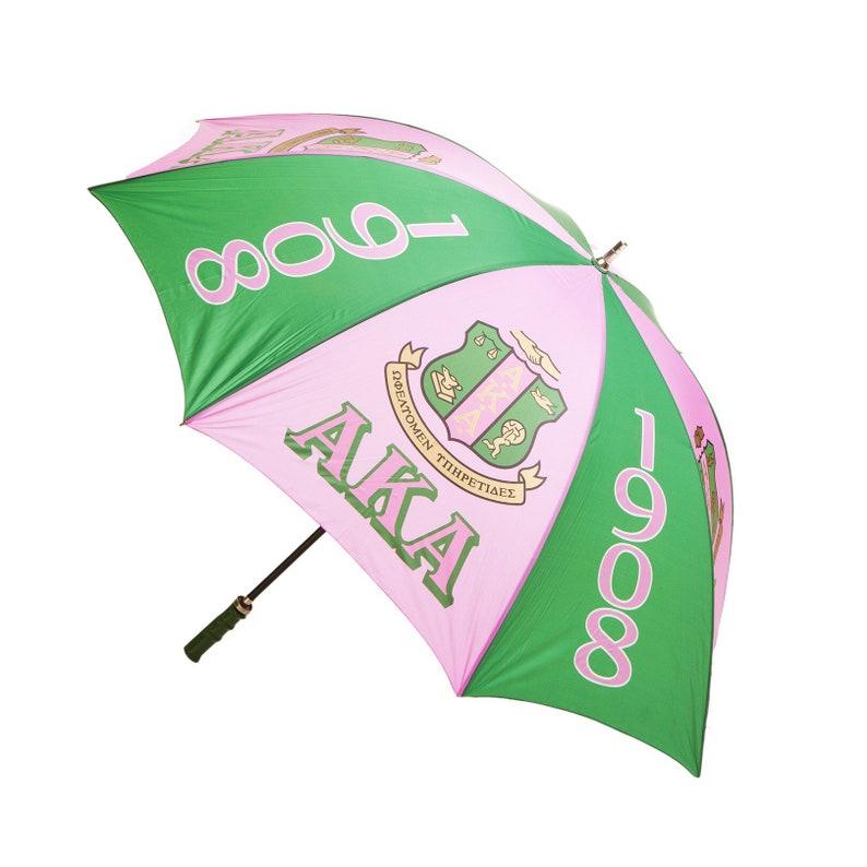3c863333c8bc Alpha Kappa Alpha( AKA) Greek Sorority 60 inches Jumbo Umbrella