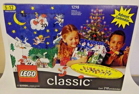 Millésime 1999 Lego Classic AVENT calendrier # 1298 MIB