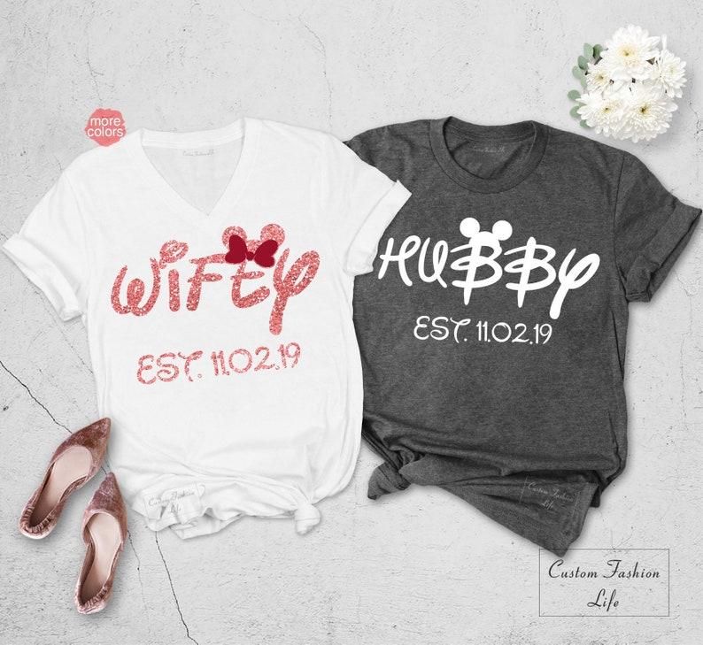 c88a62cd Hubby Wifey Shirt Wifey Shirt Hubby Shirt Couple Matching | Etsy