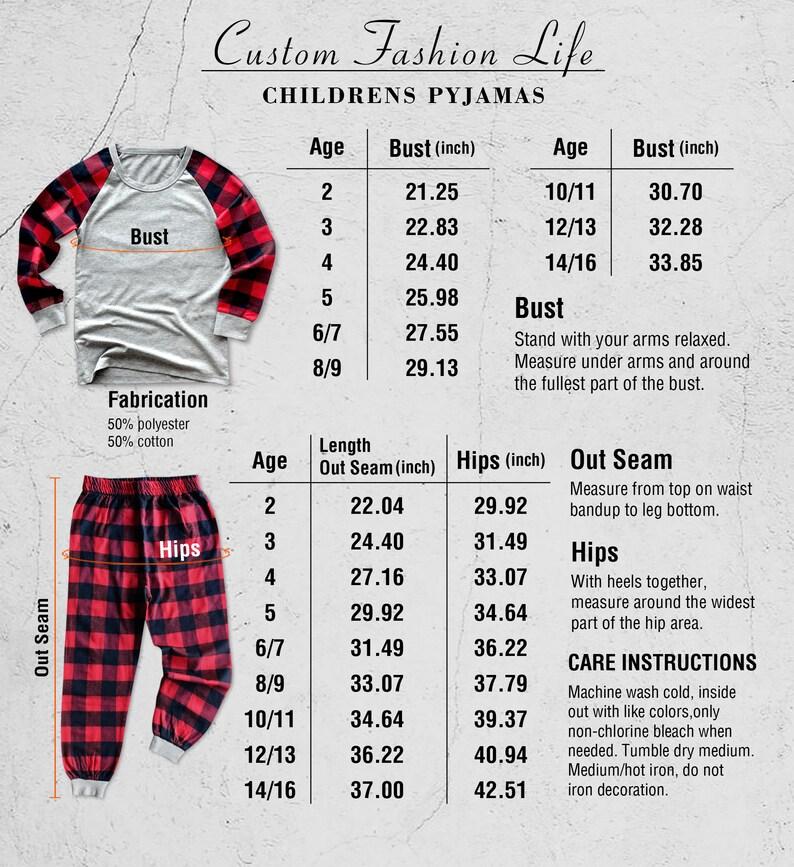 Kids Christmas Pajamas,Buffalo Plaid Bear Family Pajamas Family Christmas Pajamas Set Christmas Pajamas Matching Family Holiday Pajamas