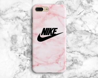 7170ad8a550f9 Rose Nike iPhone 8 Plus case