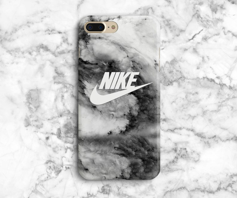 sports shoes d85b0 152ca Grey marble Nike iPhone 8 Plus case iphone x marble iphone 8 Plus case Nike  iPhone 8 case, iphone 7 case, inspired by Nike