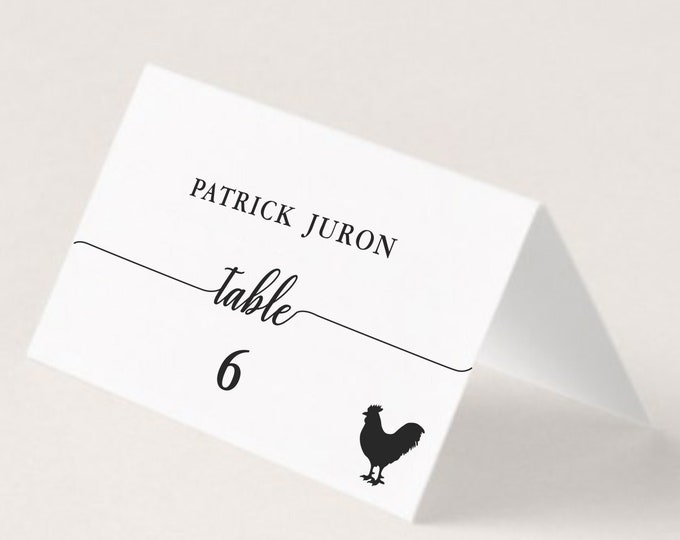 Wedding Place Card, Meal Choice Indication, Wedding Custom, Customize Place Cards, Names Guest, Place Cards with Meal Choice, Seating Cards