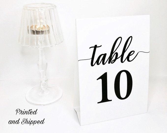 Wedding Table Number, Wedding Table Decor, Table Number, Wedding Number Signs, Table Number Cards, Personalized wedding