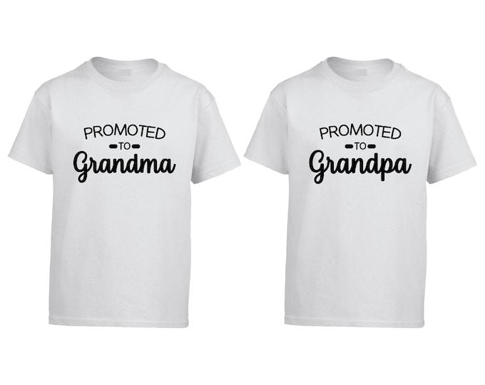 Grandma Grandpa shirts, pregnancy announcement shirt couples, baby announcement pregnancy, Pregnant shirt, pregnancy shirt