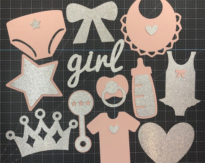 Baby Shower Photo booth Props, Baby Shower Decoration, Gender reveal, Boy or Girl, Baby, Photo props.