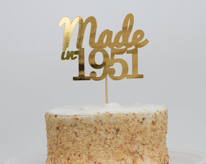 Made In 1987 Cake Topper, Birth Year Cake Topper, 32th Birthday Cake Topper, Thirty Two Cake Topper, 32 Cake Topper, Birthday Cake Topper.
