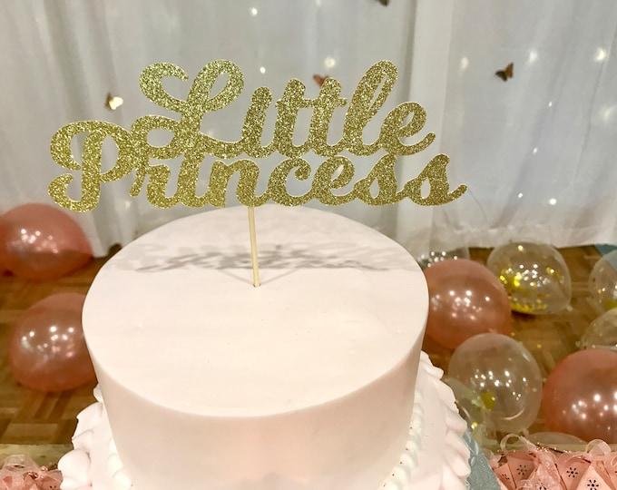 Little Princess Cake Topper, Baby Shower Cake Topper, Baby Shower Decoration, Baby Shower Decor