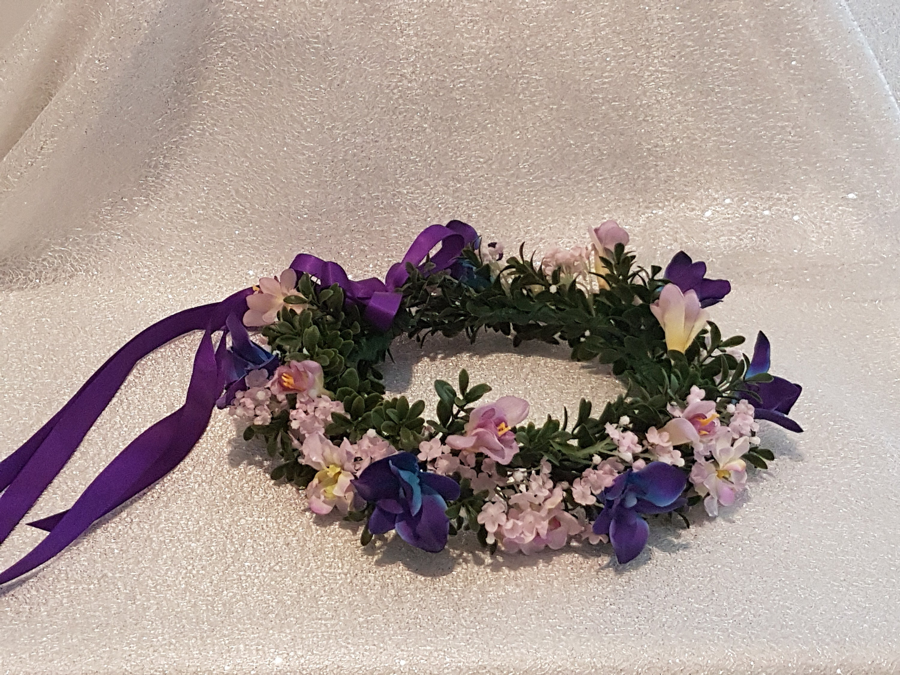 Singapore orchid flower crown etsy zoom izmirmasajfo