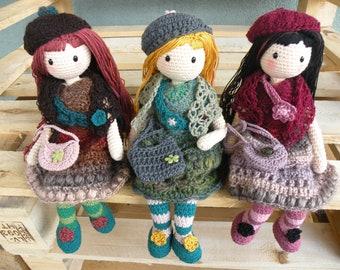 Gorjuss doll crochet amigurumi | Muñeca amigurumi, Patron muñeca ... | 270x340