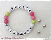 Big sister, kids bracelet...
