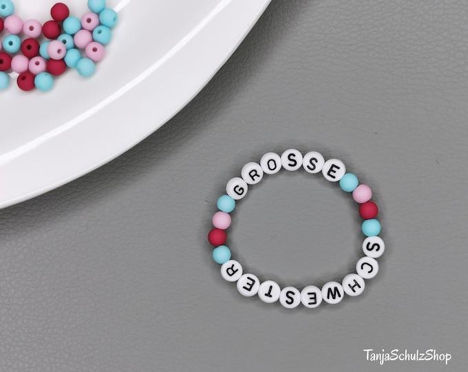 Big sister children's bracelet, great gift idea for the sister child