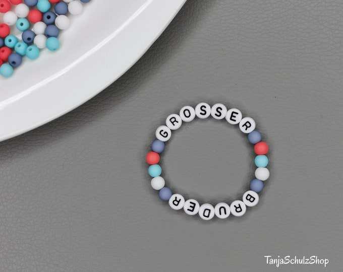 Big Brother, Children's Bracelet, Gift Idea for sibling