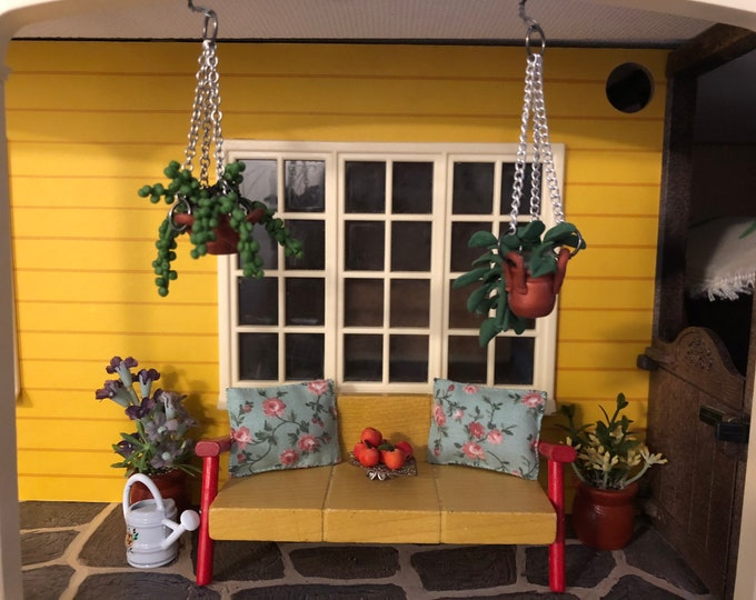 Featured listing image: Cozy out door sofa set with some plants and flowers (1:18)