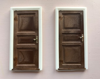Lundby 2 doors for Dallas house (1:18)