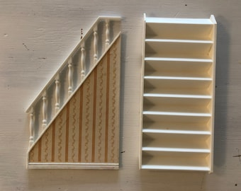 Lundby staircase for Göteborg house (1:18)