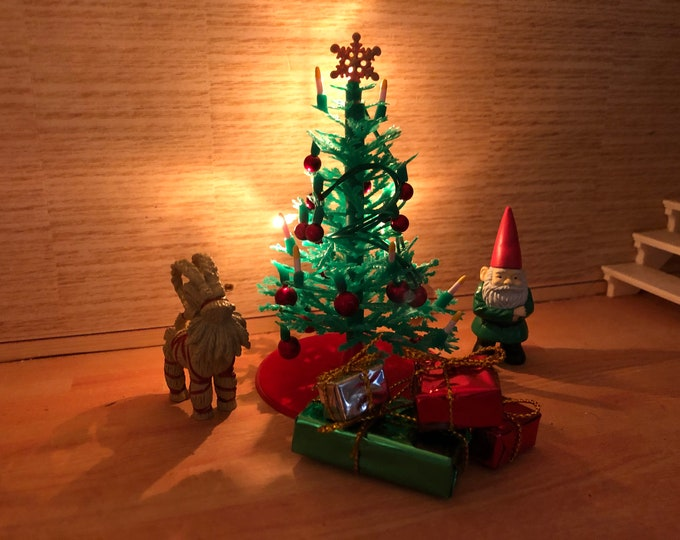 Featured listing image: Lundby New Christmas Tree with light