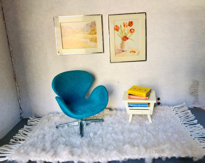 Featured listing image: Brio Arne Jacobsen Swan chair set - Rare -