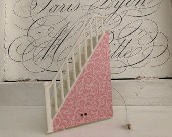 Staircase for Lundby dollhouse (1:18)