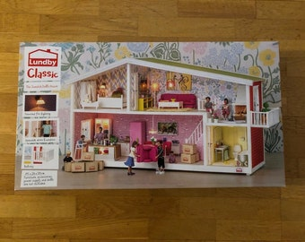 DIY Lundby new classic dollhouse with Transformer (1:18)