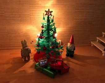 Lundby new Christmas tree with light (1:18)