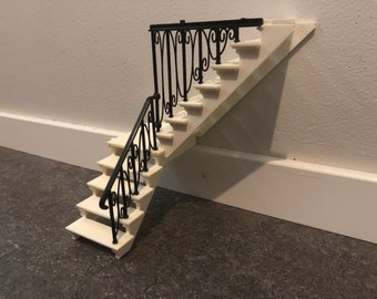 Lundby Staircase for Dallas house (1:18)