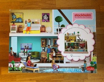 DIY Lundby Stockholm 2016 new in the package with Transformer (1:18)