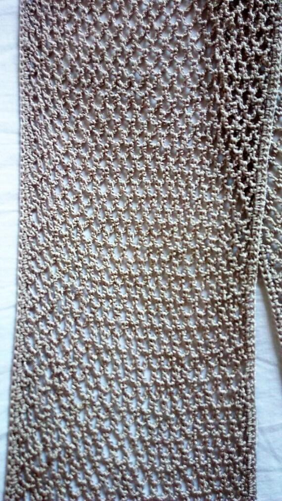 Scarf Silk Unique Handmade Crochet Gift Ideas For Women