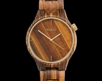 cf93e85c50f2d4 Houten horloge HOT TOT Tigano