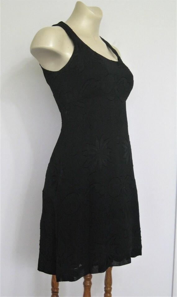 Black Dress Nicole Miller 1990s