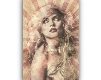 042fa773e2bb Debbie Harry Canvas Wall Art Print Vintage