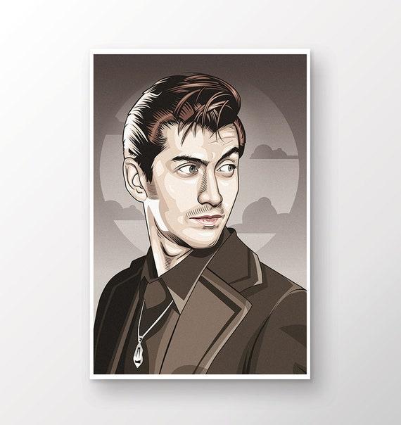 /' Arctic Monkeys Alex Turner /' Music Canvas Print Wall Art Deco