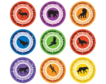 picture regarding Wild Kratts Creature Power Discs Printable called Gross gang cupcakes Etsy