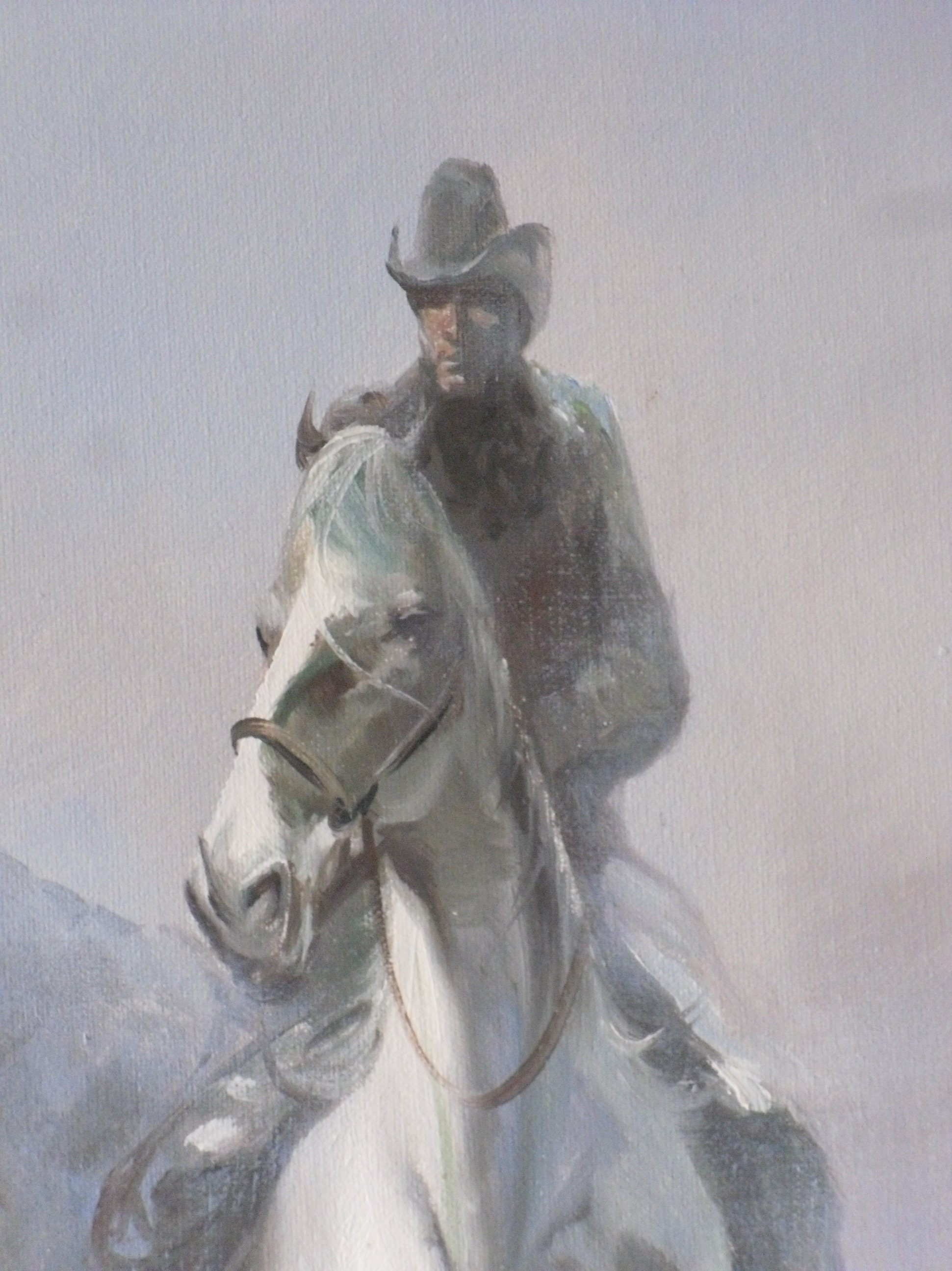 Reiter mit Packpferd Westernreiter Countryreiter | Etsy